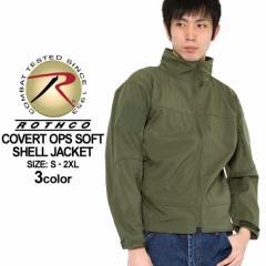 ロスコ ROTHCO ロスコ ソフトシェルジャケット メンズ 大きいサイズ [ROTHCO ロスコ ジャケット メンズ 大きいサイズ メンズ アウター ブ