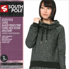 SOUTH POLE サウスポール レディース パーカー プルオーバー スウェット ストリート プルオーバーパーカー XL (15323-1511)