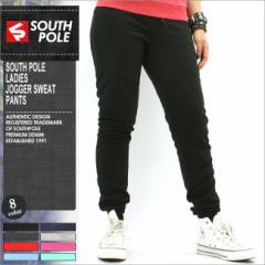 SOUTH POLE サウスポール スウェットパンツ レディース スウェット 無地 黒 ブラック グレー 大きいサイズ (southpole-9003-1650)