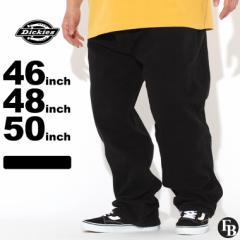 [ビッグサイズ] ディッキーズ パンツ デニム レギュラーフィット ウォッシュ加工 17292 メンズ|股下 30インチ 32インチ|ウエスト 46イ