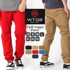 wt02 new york ジョガーパンツ メンズ スリム サルエルパンツ 無地 黒 ブラック カーキ ベージュ wt02 jogger pants 父の日 ファッション