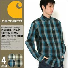 カーハート シャツ 長袖 ボタンダウン チェック メンズ 大きいサイズ 102278 USAモデル│ブランド Carhartt|カジュアルシャツ 長袖シャ