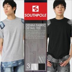 サウスポール (SOUTH POLE) tシャツ メンズ 半袖 ストリート ロング丈 tシャツ メンズ tシャツ メンズ 半袖