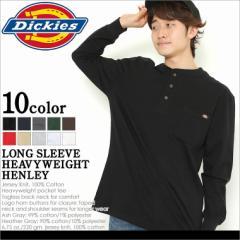 Dickies ディッキーズ ロンT メンズ ヘンリーネック tシャツ メンズ 長袖 大きいサイズ メンズ 長袖tシャツ メンズ 無地 tシャツ メンズ