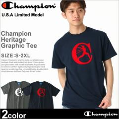 チャンピオン Tシャツ 半袖 メンズ 大きいサイズ USAモデル ブランド 半袖Tシャツ ロゴ アメカジ Champion