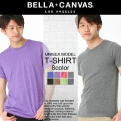 【BELLA + CANVAS LOS ANGELES】 ベラキャンバス ロサンゼルス 7カラー Tシャツ メンズ 半袖 tシャツ Uネック tシャツ レディース tシャ