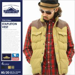 Penfield ペンフィールド ダウン メンズ ベスト ダウンベスト アウター ブルゾン 父の日 ギフト ファッション