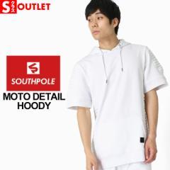 アウトレット 返品・交換・キャンセルは不可 │ サウスポール (SOUTH POLE) パーカー 夏 メンズ 半袖 パーカー メンズ