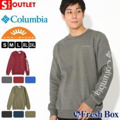アウトレット 返品・交換・キャンセル不可|Columbia コロンビア トレーナー メンズ ブランド 裏起毛 スウェット 大きいサイズ UPF50 UV