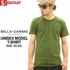 アウトレットセール 返品・交換・キャンセルは不可 │ 【BELLA + CANVAS】 12カラー Tシャツ メンズ 半袖 tシャツ Uネック tシャツ レデ