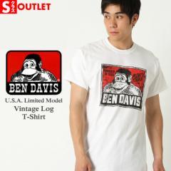 【Sランク】アウトレット 返品・交換・キャンセル不可|[ビッグサイズ] ベンデイビス Tシャツ 半袖 メンズ 大きいサイズ USAモデル|