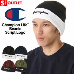 アウトレット 返品・交換・キャンセル不可 │ チャンピオン ニット帽 メンズ レディース 帽子 USAモデル ブランド ニットキャップ ビー