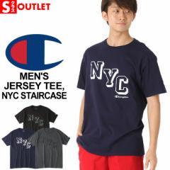 アウトレット 返品・交換・キャンセルは不可 │ Champion チャンピオン tシャツ メンズ 半袖 ビッグロゴ tシャツ