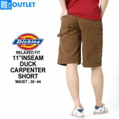【難アリ】アウトレット 返品・交換・キャンセル不可| ディッキーズ ハーフパンツ ひざ下 ショートパンツ ショーツ メンズ デニム 大き