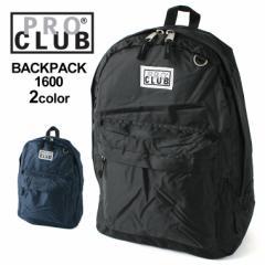 PRO CLUB プロクラブ バックパック メンズ リュックサック ブランド バッグ メンズ 旅行
