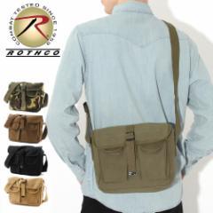 ロスコ バッグ ショルダーバッグ メンズ レディース USAモデル 米軍|ブランド ROTHCO|メッセンジャーバッグ 斜めがけ キャンバスミ リ