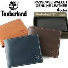 ティンバーランド 財布 三つ折り メンズ 本革 レザー USAモデル ブランド Timberland ミニ財布 三つ折り財布 アメカジ
