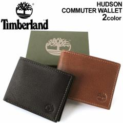 Timberland ティンバーランド 財布 メンズ 二つ折り ブランド ミニ財布 本革
