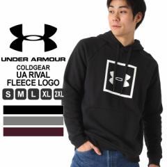 アンダーアーマー パーカー プリント メンズ プルオーバー 裏起毛 大きいサイズ USAモデル ブランド UNDER ARMOUR スポーツウェア S M L