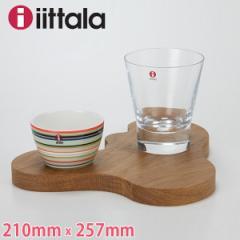 [あす着]母の日 ギフト iittala イッタラ Aalto small serving platter アアルト サービングプラターS oak オーク 1008961 Sサイズ