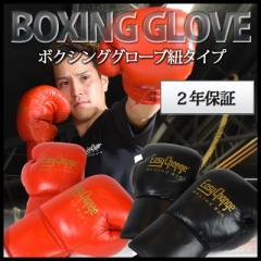 【ゴム紐プレゼントキャンペーン中】ボクシンググローブ EasyChange イージーチェンジ 本革仕様 ひも式グローブ ファイトタイプ