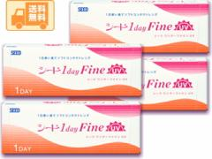 【送料無料】 シード SEED 1dayFineUV(ワンデーファインUV) コンタクトレンズ 30枚入 4箱セット