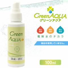 グリーンアクア・イオ (低濃度) 100ml 【消臭剤/除菌剤/消臭液/消臭スプレー】【GreenAQUA・グリーンアクア】