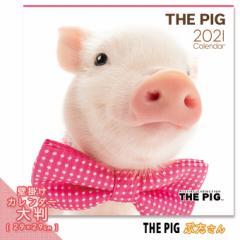 2021年 THE PIG カレンダー【大判】 ■ 壁掛けカレンダー 写真 ポスター ザピッグ  月特