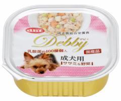 デビフ デビィ 成犬用 ササミ&野菜 100g 【デビフ(d.b.f・dbf)/ドッグフード ウェットフード 缶詰/ペットフード/ドックフード】