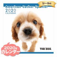 THE DOG カレンダー 2020年 アメリカンコッカースパニエル ■ CALENDAR カレンダ— カレンダ ポスター 壁掛け ブックレット 犬 ドッグ ド