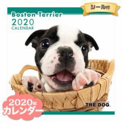 THE DOG カレンダー 2020年 ボストンテリア ■ CALENDAR カレンダ— カレンダ ポスター 壁掛け ブックレット 犬 ドッグ ドック