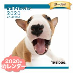 THE DOG カレンダー 2020年 ブルテリア ■ CALENDAR カレンダ— カレンダ ポスター 壁掛け ブックレット 犬 ドッグ ドック