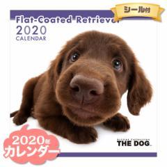 THE DOG カレンダー 2020年 フラットコーテッドレトリーバー ■ CALENDAR カレンダ— カレンダ ポスター 壁掛け ブックレット 犬 ドッグ