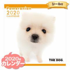 THE DOG カレンダー 2020年 ポメラニアン ■ CALENDAR カレンダ— カレンダ ポスター 壁掛け ブックレット 犬 ドッグ ドック