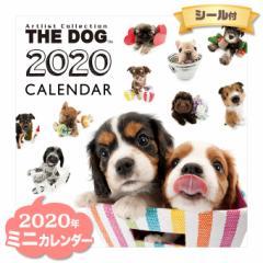 ミニ カレンダー 2020年 THE DOG オールスター ■ CALENDAR カレンダ— カレンダ ポスター 壁掛け ブックレット 犬 ドッグ ドック