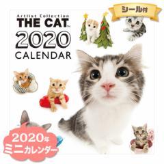 ミニ カレンダー 2020年 THE CAT オールスター ■ CALENDAR カレンダ— カレンダ ポスター 壁掛け ブックレット 猫 ねこ キャット