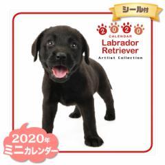ミニ カレンダー 2020年 ラブラドールレトリーバー ■ CALENDAR カレンダ— カレンダ ポスター 壁掛け ブックレット 犬 ドッグ ドック