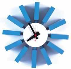 【保証付き】ジョージ・ネルソン ブロック クロック kaw-cw06  /NP 後払い/北欧/インテリア/セール/モダン/送料無料/激安/  掛け時計/掛