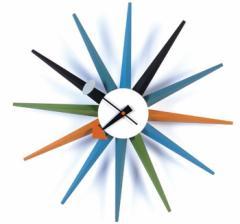 【保証付き】ジョージ・ネルソン サンバースト クロック kaw-cw08  /NP 後払い/北欧/インテリア/セール/モダン/送料無料/激安/  掛け時計