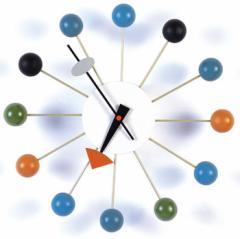 【保証付き】ジョージ・ネルソン ボール クロック kaw-cw09  /NP 後払い/北欧/インテリア/セール/モダン/送料無料/激安/  掛け時計/掛け
