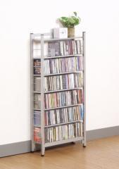 スチール製 CD ラック ハーフタイプ 47.5幅 sei-sr-45ch  /NP 後払い/北欧/インテリア/セール/モダン/送料無料/激安/
