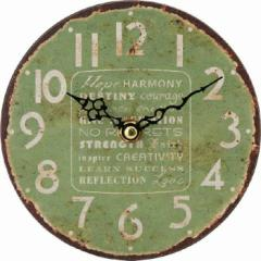 アンティークスタンドクロック グリーン fj-21922  /NP 後払い/北欧/インテリア/セール/モダン/送料無料/激安/  掛け時計/掛け時計/おし