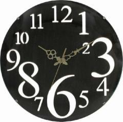壁掛け時計 レトロ ブラウン fj-56921  /NP 後払い/北欧/インテリア/セール/モダン/送料無料/激安/  掛け時計/掛け時計/おしゃれ/北欧/木