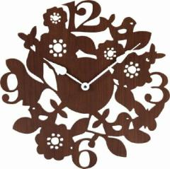 壁掛け時計 フォレスト ブラウン fj-56922  /NP 後払い/北欧/インテリア/セール/モダン/送料無料/激安/  掛け時計/掛け時計/おしゃれ/北