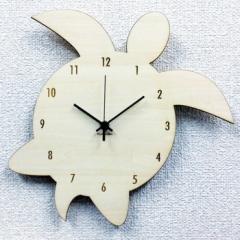 ハワイアン アジアン テイスト 掛け時計 Silhouette Clock ホヌ・モンステラ Honu ホヌ SK-1007 kar-4534127s1  /NP 後払い/北欧/インテ