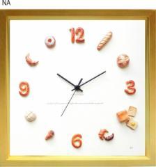 パン 掛時計 Horloge du pain ナチュラル KK-1002 kar-5091240s2  /NP 後払い/北欧/インテリア/セール/モダン/送料無料/激安/  掛け時計/