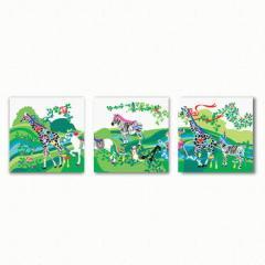 ホラグチカヨ アートパネル 3枚セット HORAGUCHI KAYO Mサイズ 30cm×30cm lib-3909154s1  /NP 後払い/北欧/インテリア/セール/モダン/送