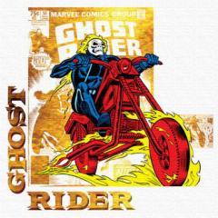 ゴーストライダー ファブリックパネル アートパネル MARVEL Ghost Rider Mサイズ 30cm×30cm lib-4121925s1  /NP 後払い/北欧/インテリア