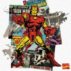 アイアンマン インテリアパネル アートパネル MARVEL Iron Man Mサイズ 30cm×30cm lib-4121931s1  /NP 後払い/北欧/インテリア/セール/