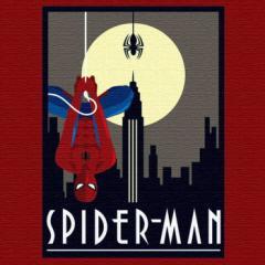 スパイダーマン アートパネル MARVEL Spider Man Mサイズ 30cm×30cm lib-4121935s1  /NP 後払い/北欧/インテリア/セール/モダン/送料無